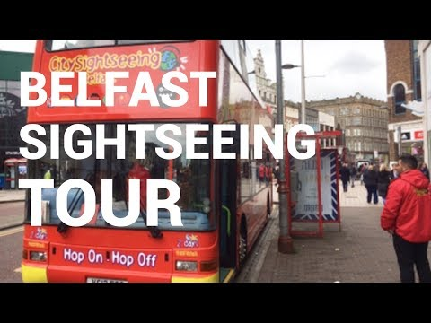 The Best Views Of Belfast - From The Top Deck | Sightseeing Bus Tour