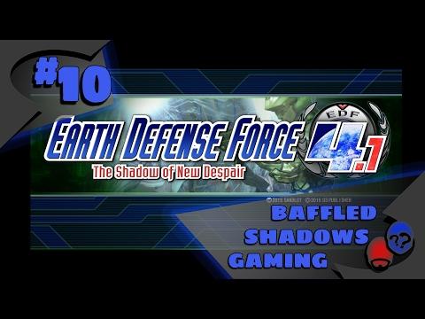 Earth Defense Force 4.1 Splitscreen - Ep 10 - Barney Rubble