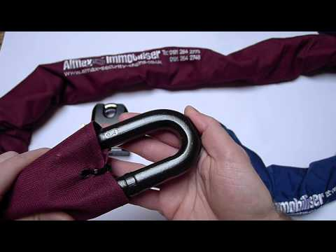 Almax Security Chain Immobiliser Series III 16mm and Immobiliser Series IV 19mm