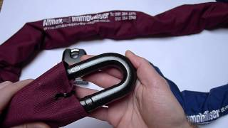 Almax Security Chain Immobiliser Series III 16mm and Immobilise