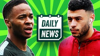 TRANSFER NEWS: Raheem Sterling to Real Madrid + Oxlade-Chamberlain Injury ► Daily Footbal Newsl