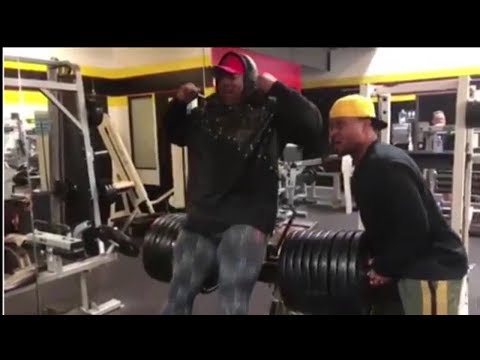 SHAWN RHODEN HEAVY LEG WORKOUT FOR -2019 MR.OLYMPIA