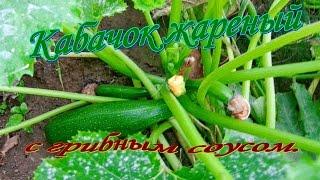 Кабачок жареный. Видео рецепты от Борисовны.