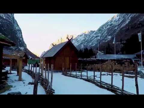 Njardarheimr - Gudvangen Viking Town. Winter 2018