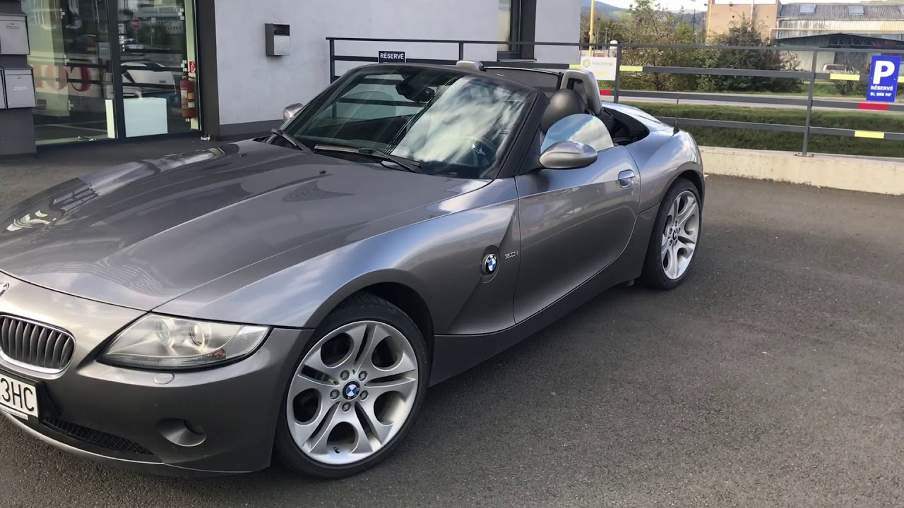 2004 Bmw Z4 E85 Smg 3 0i Youtube