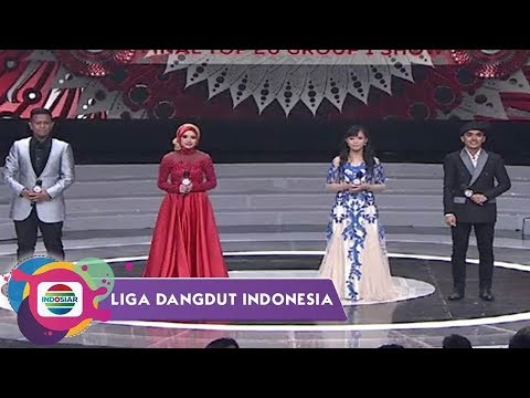 Highlight Liga Dangdut Indonesia - Konser Final Top 20 Group 1 SHOW