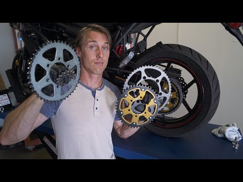 Motorcycle Gearing Changes Explained   MC Garage