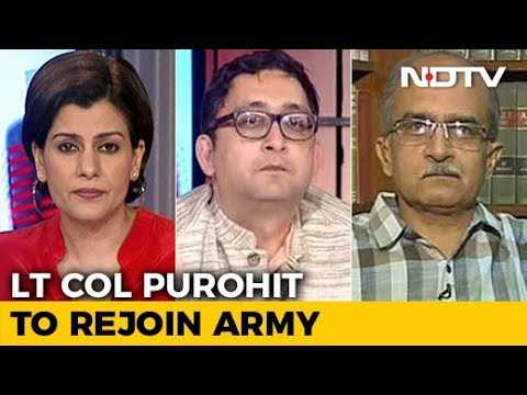 Lt Col Purohit Gets Army Escort: Should A Terror Undertrial Get This Treatment?
