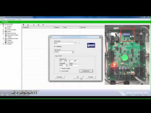 Ac Control Wiring Diagram Configuraci 243 N De Paneles De Control De Acceso Rosslare Con