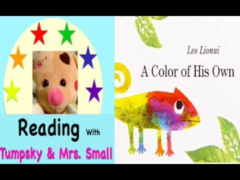 a color of his own by leo lionni magical books read aloud for kids - A Color Of His Own Book