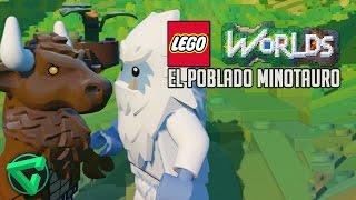 EL POBLADO MINOTAURO - LEGO WORLDS | iTownGamePlay