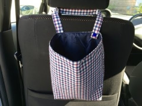 Diy Car Trash Bag Tutorial