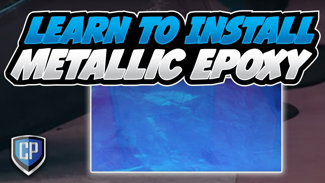 Learn To Install Metallic Epoxy Youtube