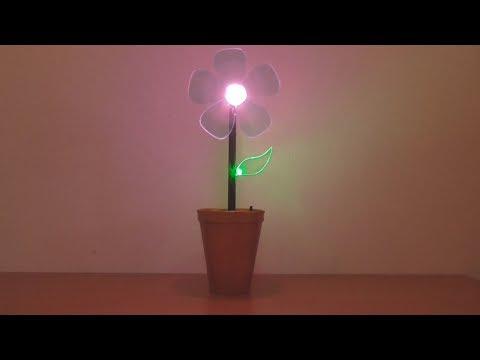 C�mo Hacer Flor Luminosa para la Decoraci�n