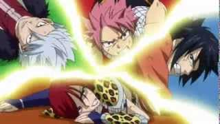fairy tail and others guilds vs oracion seis first meeting full fight