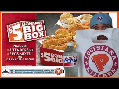POPEYES® - $5 BONAFIDE BIG BOX REVIEW #329