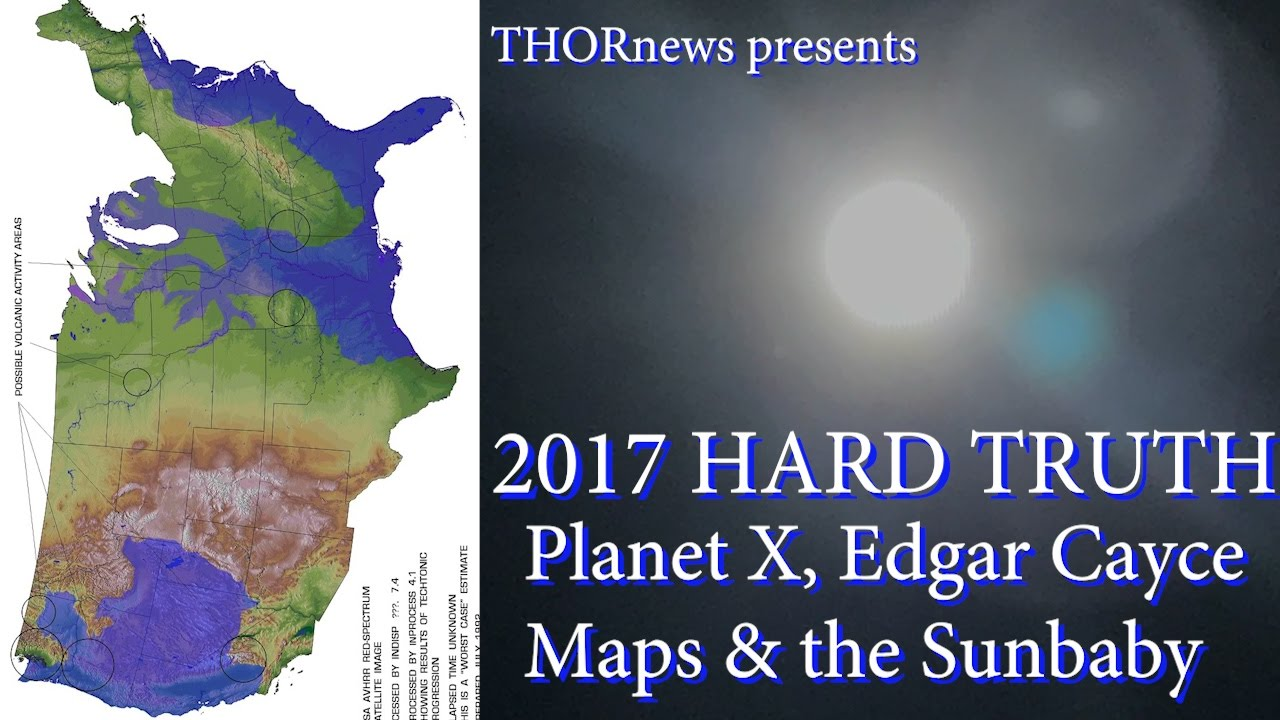 HARD TRUTH Planet X Edgar Cayce Future Maps Strategic Flooding - Edgar cayce future us map