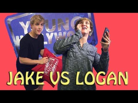 Jake & Logan Paul Musical.ly Battle