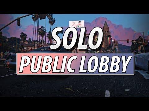 GTA Online - Solo Public Lobby Trick (2017) - PC 1.42 (Doomsday Heist)