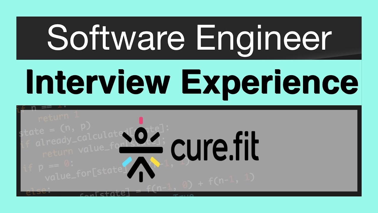 CureFit Interview Experience | Software Engineer | Bangalore