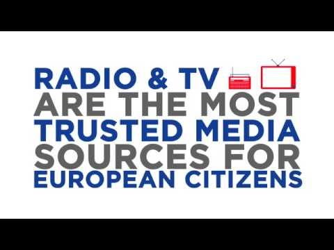 Radio & TV are most trusted media in Europe