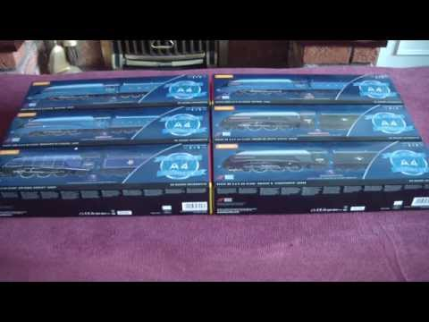 Hornby Great Goodbye Set Unboxed