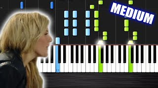 Calvin Harris - Outside ft. Ellie Goulding - Piano Cover/Tutorial by PlutaX - Synthesia