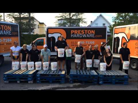 Preston Hardware Ltd ALS Ice Bucket Challenge