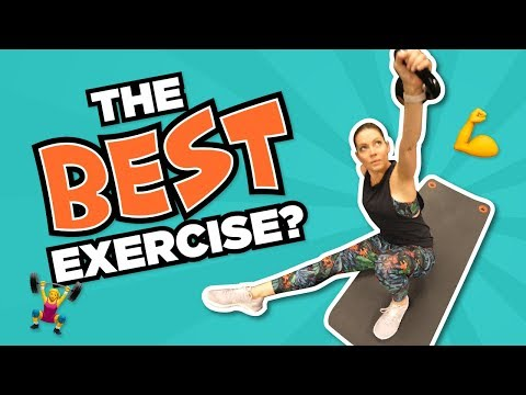 The Best Exercise Ever // Healthy Eating Update
