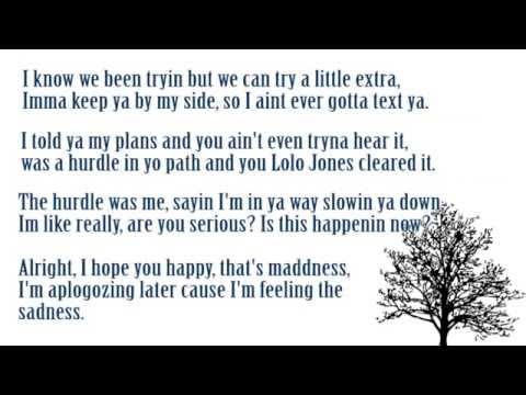 Sad Rap Ballad (Lyrics on screen)
