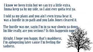 Sad Rap Ballad (Lyrics on screen)