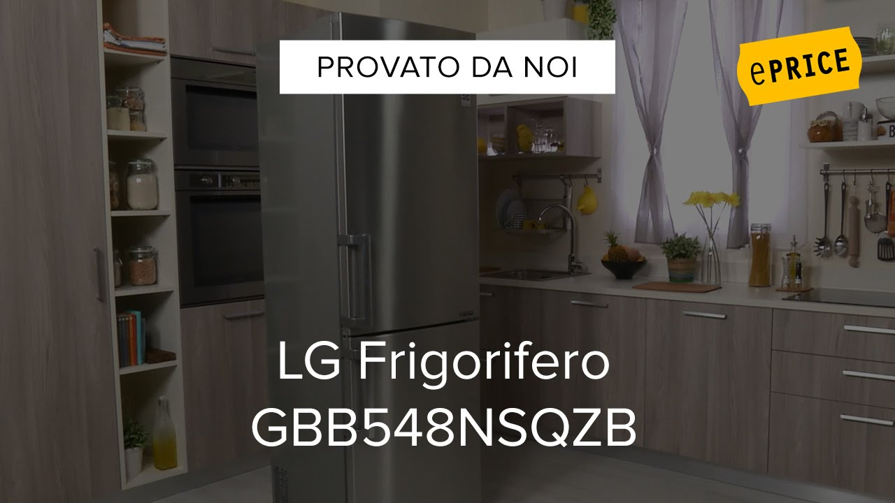 video recensione frigorifero lg gbb548nsqzb youtube. Black Bedroom Furniture Sets. Home Design Ideas