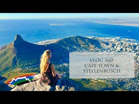 South Africa Adventure: Cape Town And Stellenbosch - Pilot Lindy VLOG #60