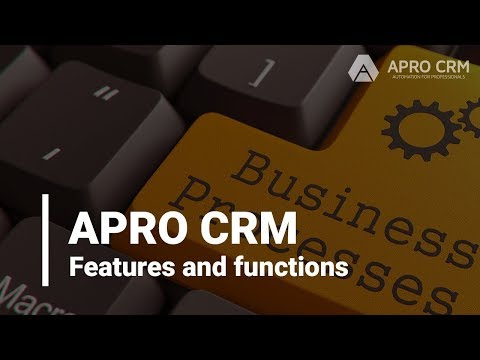 APRO CRM overview