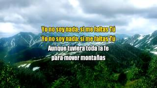 Si me faltas (1 Corintios 13, 1 - 3) LYRICS, Hermana Glenda © ®
