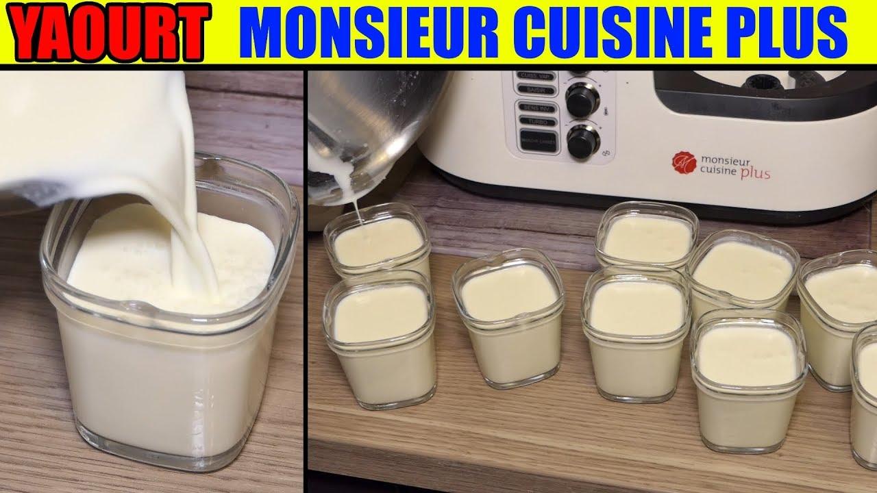 Yaourt Monsieur Cuisine Edition Plus Thermomix Recette Maison Yogurt