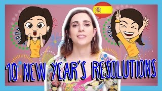 Learn the Top 10 New Years Resolutions in Spanish