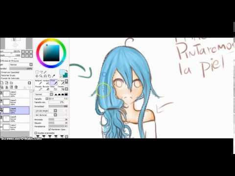 Como Colorear En Paint Tool Sai [FACIL] - YouTube