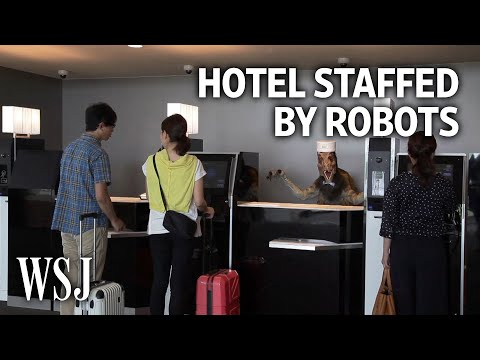 A Tour of the World's First Robot-Staffed Hotel