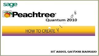 Wie Schaffen Anbieter in Peachtree Quantum 2010 || Computer e-Learning