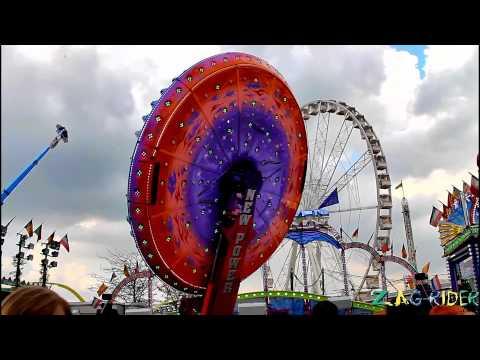 Le Moonraker (Nouveauté 2012) en video offride à la foire du Trône 2012