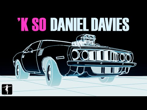 'K So - Daniel Davies - Wednesday (Original Comic Book Soundtrack) Music Video Tech Noir Retro Wave
