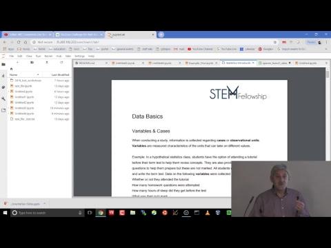 Big Data Challenge 2018 SciNet HPC Consortium Live Stream