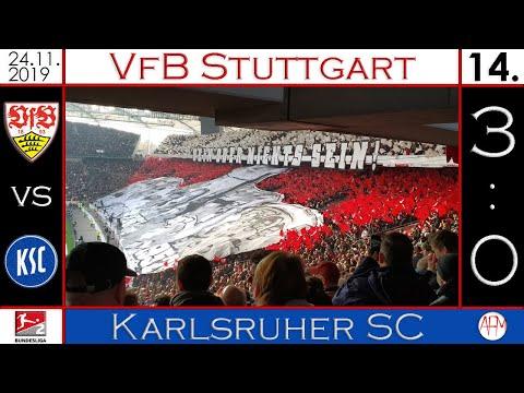 #VfBKSC | #Derby | VfB Stuttgart Vs Karlsruher SC (3:0) | Vlog #8