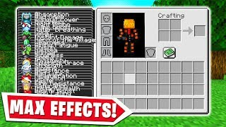 MINECRAFT BUT WITH EVERY EFFECT..