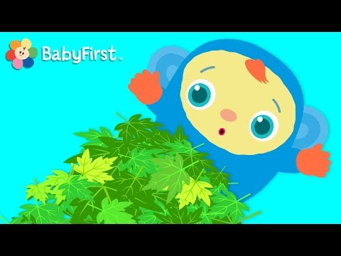 Fun in the Park! | Hide and Seek for Babies | Peek-A-Boo I See You | BabyFirst TV