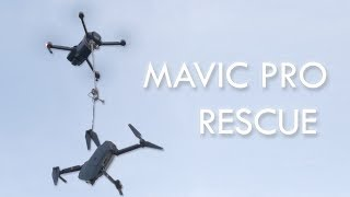 Mavic Pro Rescues Mavic Pro in 50ft Tree!