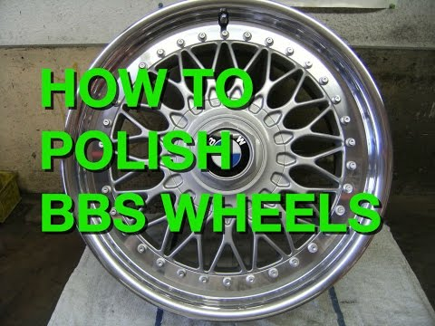 How to Polish BMW BBS Wheels Cheap DIY