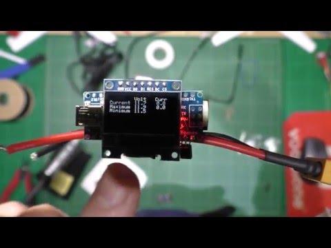 DIY voltage / current sensor and lost model alarm