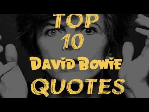 Top 10 David Bowie Quotes